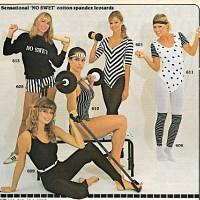 1982 Workout fashion