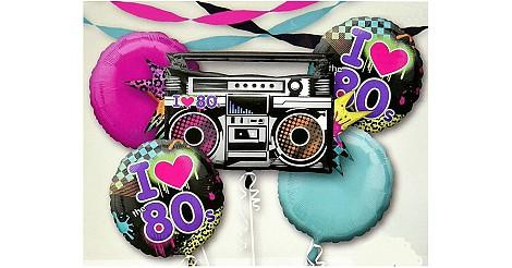 80s Party Balloons Montage 470px