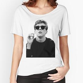 Anthony Michael Hall as Brian Johnson T-shirt for Women