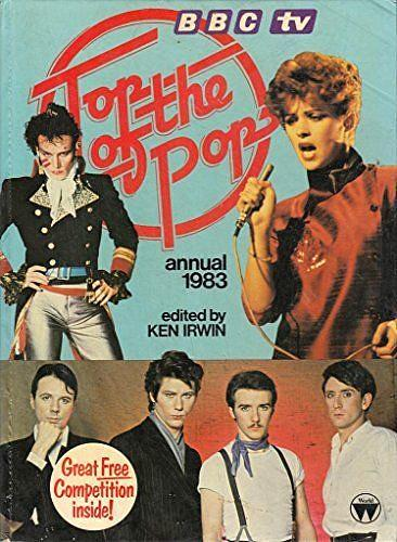 BBC TV Top of the Pops Annual 1983