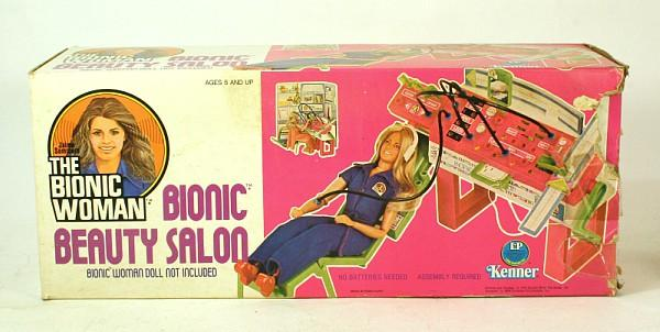 The Bionic Woman - Bionic Beauty Salon by Kenner
