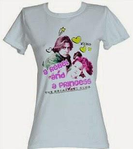 The Breakfast Club A Rebel and Princess T-shirt