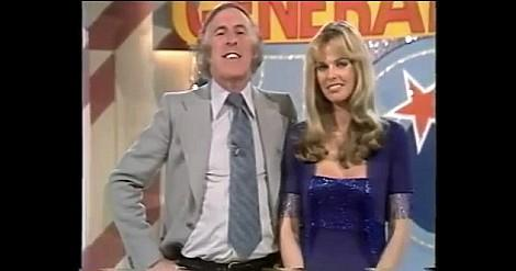 Bruce Forsyth and Andrea Redfern on the 100th edition of The Generation Game