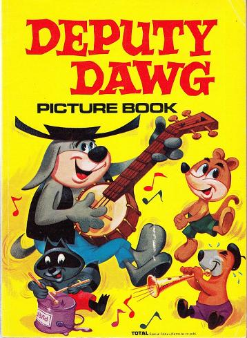 Deputy Dawg Picture Book 1973