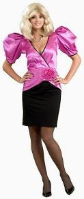 Dynasty Krystie Carrington puffed sleeves costume