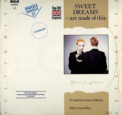 Eurythmics - Sweet Dreams (Are Made Of This) Vinyl 12