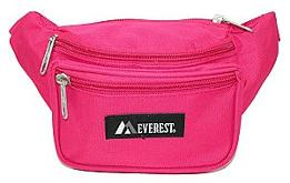 Everest Unisex Fabric Fanny PAck - choice of colors