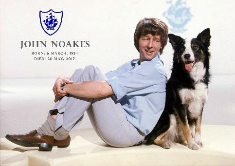 John Noakes and Shep tribute poster