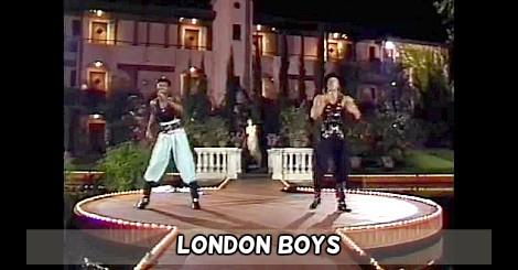London Boys performing