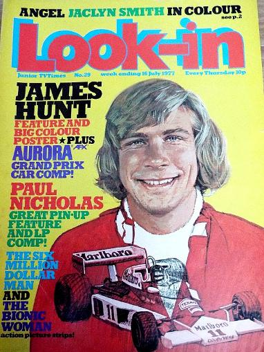 Look-In July 1978 ft. James Hunt