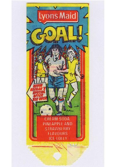Lyons Maid Goal ice lolly
