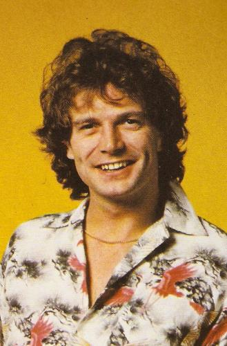 Radio 1 DJ Peter Powell in the late 1970s