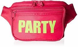 Pink 80s Party Fanny Pack