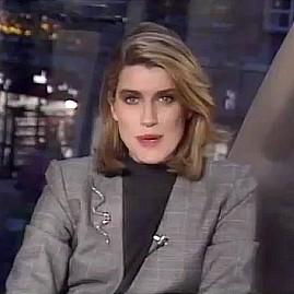 Selina Scott on The Clothes Show 1988