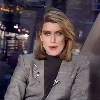 Selina Scott on The Clothes Show in 1988