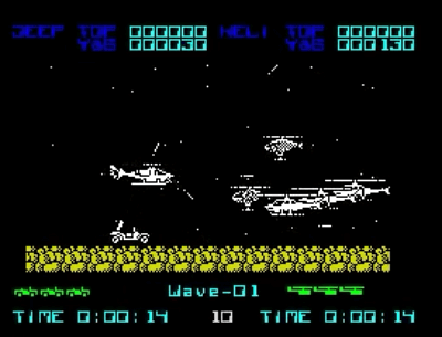 Silkworm (Wave 1) ZX Spectrum screenshot