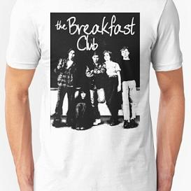 The Breakfast Club T-shirt by Redbubble