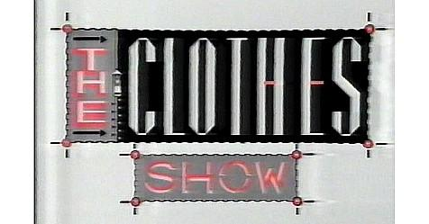 The Clothes Show logo 80s