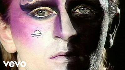Steve Strange in the video for