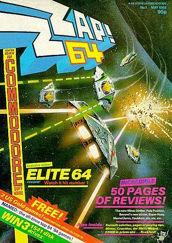 Zzap! 64 issue one (May 1985)