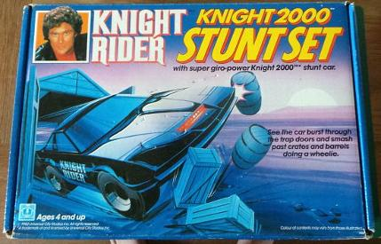 Knight Rider Knight 2000 Stunt Set (1982)