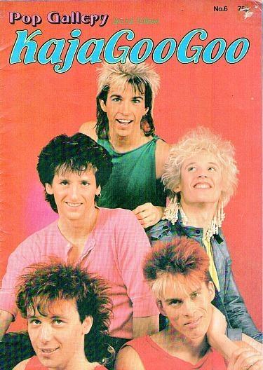 Kajagoogoo Pop Gallery Magazine