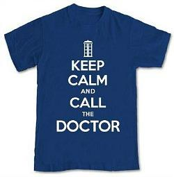 Doctor Who - Keep Calm And Call The Doctor T-Shirt