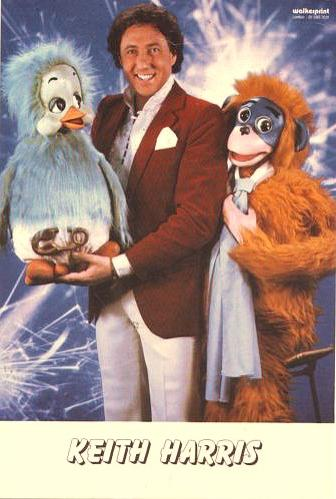 Keith Harris with Orville and Cuddles 1980s