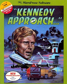 Kennedy Approach - Microprose Software - box cover artwork