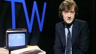 Kieran Prendiville presenting on Tomorrow's World in 1982
