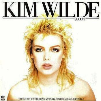 Kim Wilde - Select (LP sleeve from 1982)