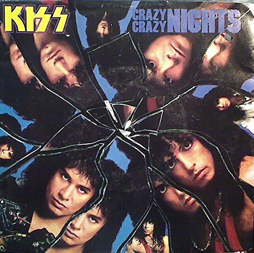 Kiss - Crazy Crazy Night single sleeve 1987