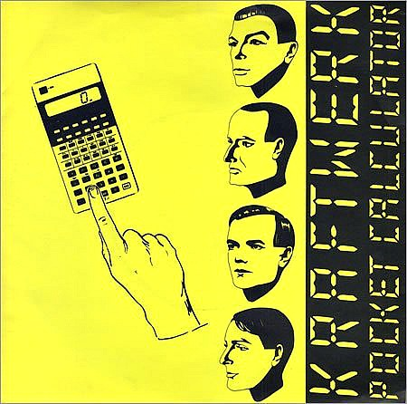 Kraftwerk - Pocket Calculator vinyl sleeve