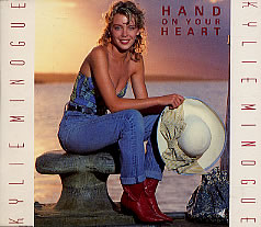 Kylie Minogue - Hand On Your Heart vinyl 7