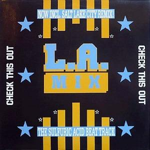 L. A. Mix - Check This Out - vinyl sleeve German