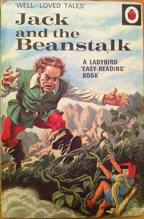 Ladybird Jack and the Beanstalk (1971) Well-Loved Tales Book