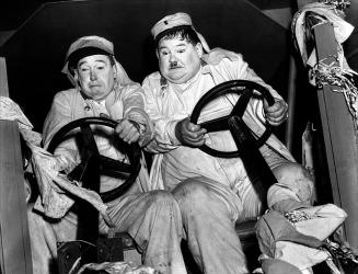 Laurel and Hardy in