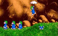 Lemmings screenshot
