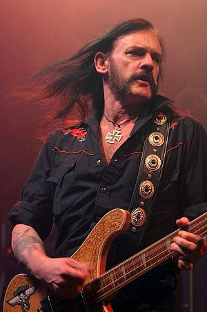 Lemmy from Motorhead - 80s rock