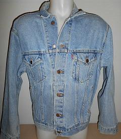 1980s Levi's 501 Denim Jacket