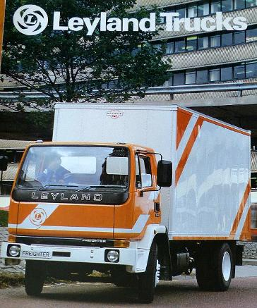 Leyland Trucks brochure from the 1980s