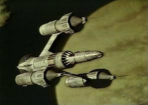 Liberator - the alien spaceship commandeered by Blake and his gang in Blake's 7