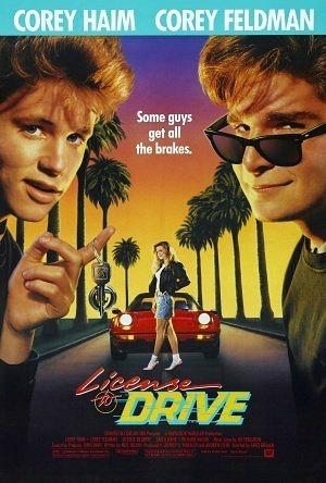 License To Drive movie Poster