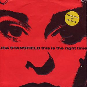 Lisa Stansfield - This Is The Right Time (single sleeve)