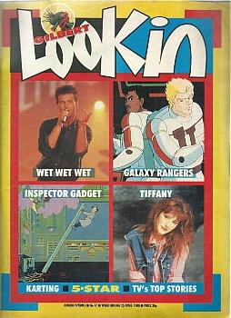 Look-In April 1988 ft. Wet Wet Wet, Galaxy Rangers, Inspector Gadget and Tiffany