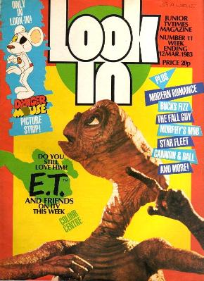 Look In Magazine March 1983 featuring E.T. the Extra Terrestrial
