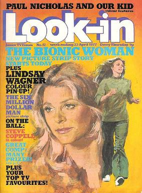 Look-in magazine from the 70s