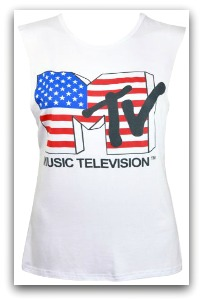 MTV Vest Top for ladies