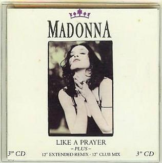 MAdonna - Like A prayer (3 inch CD single)