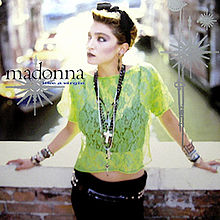 Madonna Like A Virgin single sleeve